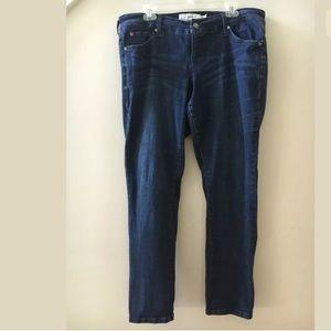 Torrid Dark Wash Boyfriend Blue Jeans
